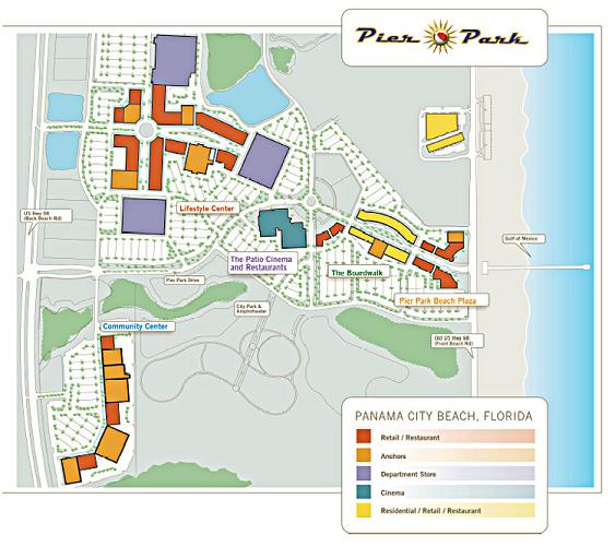 Panama City Real Estate Panama City Beach Real Estate – Panama City Beach Tourist Map