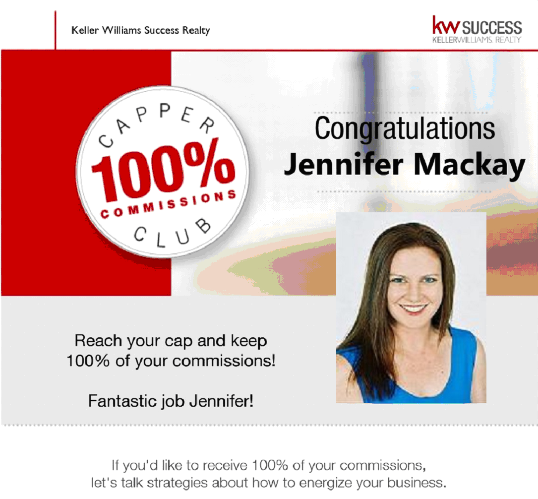 Jennifer Mackay - Keller Williams Success Realty Capper