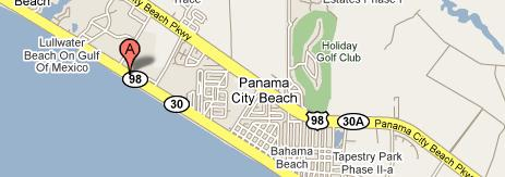 Panama City Beach Florida Map.St Andrews Place Condos For Sale Panama City Beach Fl Real Estate