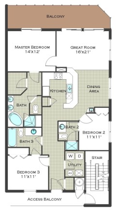 Calypso towers condos for sale panama city beach fl real - 3 bedroom condos panama city beach fl ...