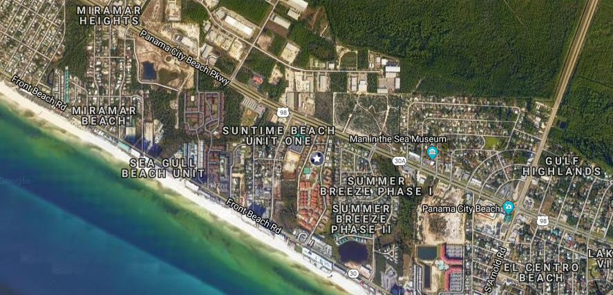Horizon South condos for sale location map